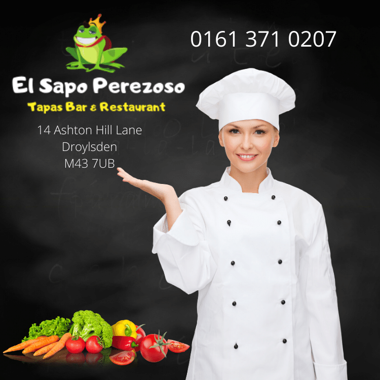 Elsapo Perezoso| Lazy Toad Tapas Bar in Droylsden