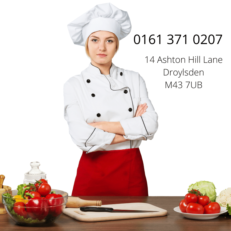 image of female chef