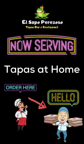 Now Serving Tapas