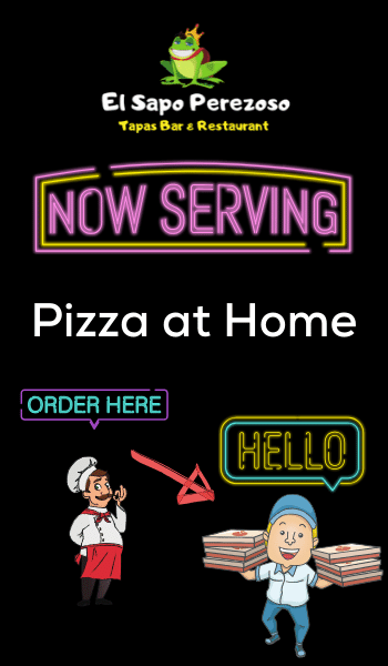 now serving pizza at home