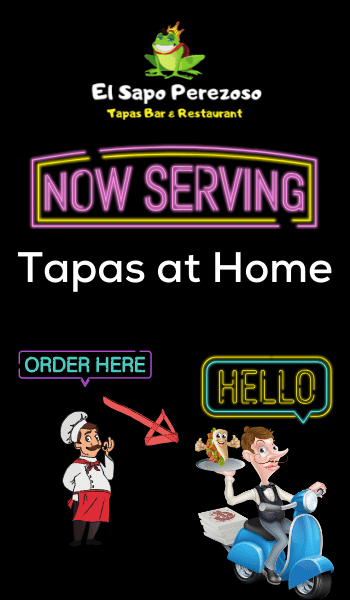 now serving tapas at home